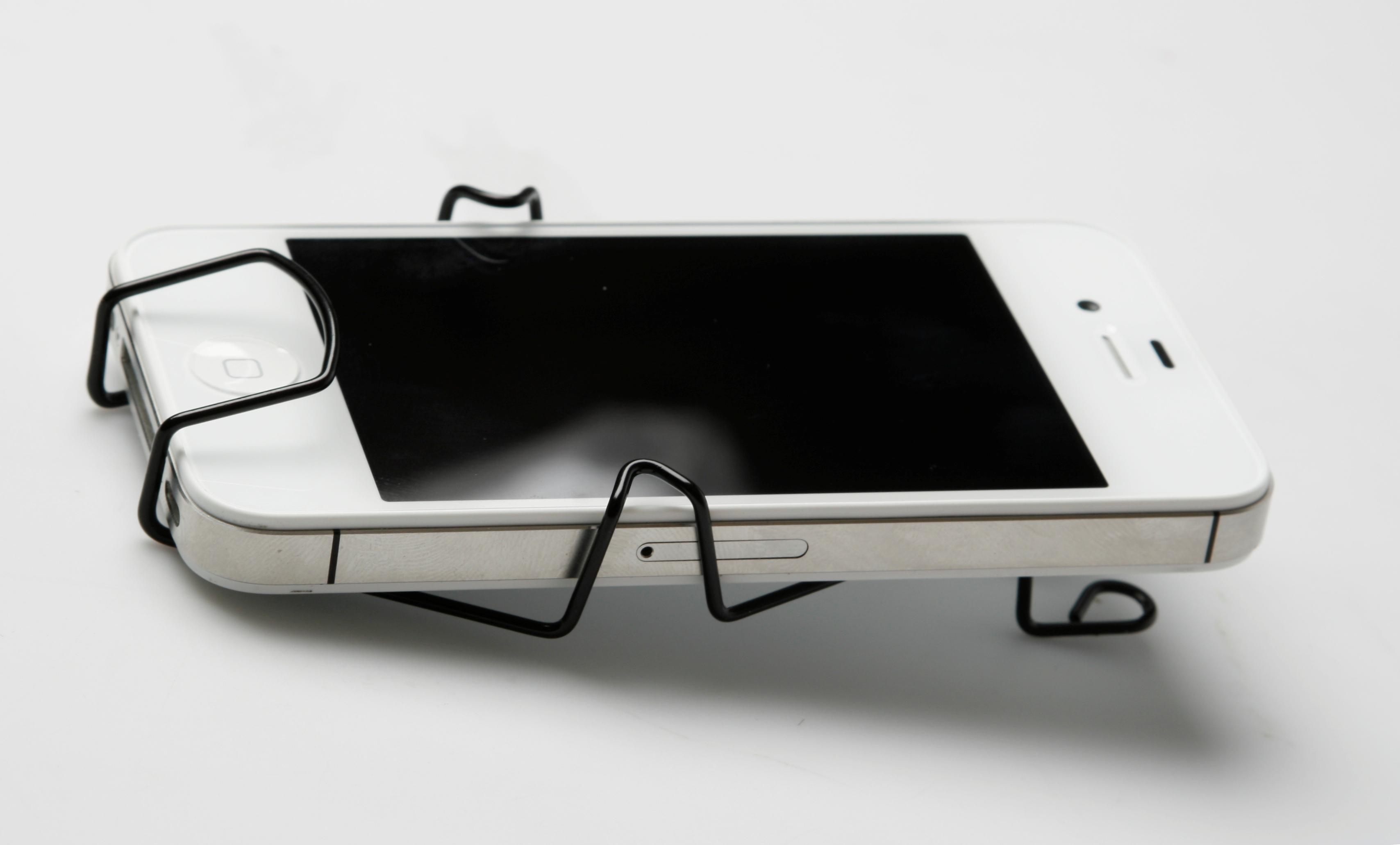 Smartphone houder zwart